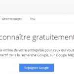 Partie de page Google My Business : référencement local